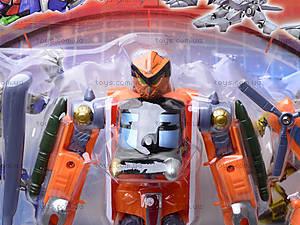 Игрушечный трансформер «Транспорт», 8001A-H, toys.com.ua