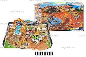 Игрушечный трек для машин Monster Truck, 8888-25, фото