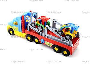 Игрушечный трейлер для детей Super Truck, 36630, купить