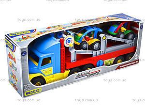 Игрушечный трейлер для детей Super Truck, 36630, фото