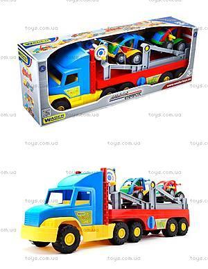Игрушечный трейлер для детей Super Truck, 36630