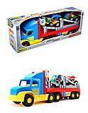 Игрушечный трейлер для детей Super Truck, 36630, детские игрушки