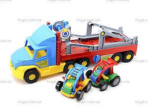 Игрушечный трейлер для детей Super Truck, 36630, цена