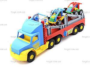 Игрушечный трейлер для детей Super Truck, 36630, игрушки
