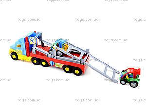 Игрушечный трейлер для детей Super Truck, 36630, магазин игрушек