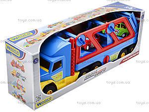 Игрушечный трейлер Super Truck, 36640, фото