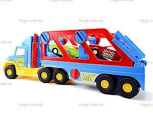 Игрушечный трейлер Super Truck, 36640, игрушки
