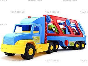 Игрушечный трейлер Super Truck, 36640, детские игрушки