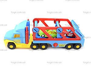 Игрушечный трейлер Super Truck, 36640, магазин игрушек