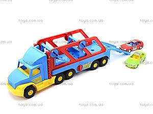Игрушечный трейлер Super Truck, 36640, toys.com.ua