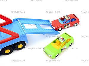 Игрушечный трейлер Super Truck, 36640, toys