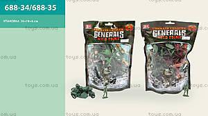 Игрушечный военный набор, 688-34688-35
