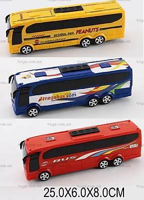 Игрушечный инерционный «Автобус», 818-123