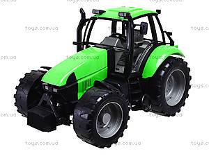 Игрушечный инерционный трактор, для детей, 7089B, купить
