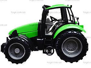 Игрушечный инерционный трактор, для детей, 7089B, отзывы