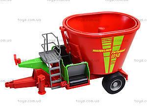 Игрушечный инерционный трактор, для детей, 7089B, цена
