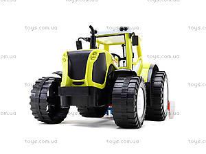 Игрушечный инерционный трактор «Фермер», 0488-206, купить