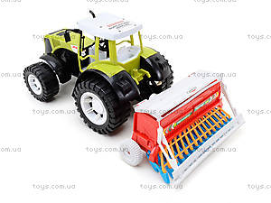 Игрушечный инерционный трактор «Фермер», 0488-206, отзывы