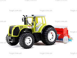 Игрушечный инерционный трактор «Фермер», 0488-206, цена