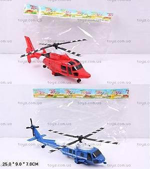 Игрушечный инерционный «Вертолет», 898-1666-1