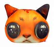 Игрушка антистресс SOFT TOYS «Кот глазастик», рыжий, DT-ST-01-01