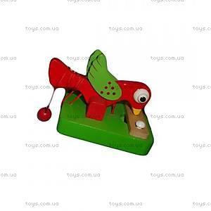 Игрушка «Деревянный дятел», 2012-3, игрушки