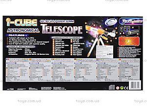Игрушка детская «Телескоп астрономический», 7301-EC, отзывы
