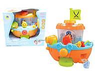 Игрушка для ванной детский «Кораблик», 8806, отзывы