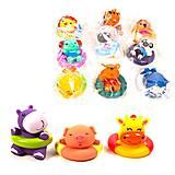 Игрушка для ванной «Животные с кругом», LD50005-A, купить
