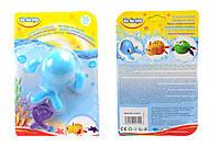 Заводная игрушка для купания «Морской путешественник Кит», 57079, отзывы