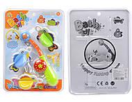 Игрушка для ванной «Удочка с рыбками» , SL87001A, купить