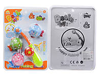 Удочка с рыбками, игрушка для ванной, SL87001B