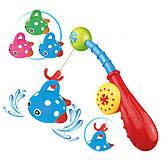 Игрушка для воды «Рыбалка» удочка и 3 рыбки , 58055, іграшки