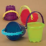 Детская игрушка для игры с песком и водой «Мини-ведерце», BX1437Z, фото