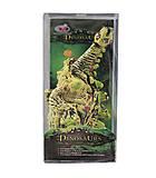Игрушка «Динозавр» белый с зелёными шипами, R332, отзывы