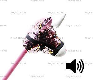"Игрушка ""Единорог на палочке"" розовый (FH411), FH411"