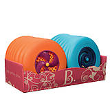 Игрушка «Фрисби» цвет папайя-сливовый, BX1356Z, купить