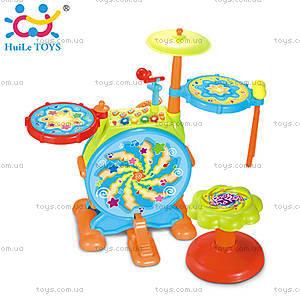 Игрушка Huile Toys «Джазовый барабан», 666