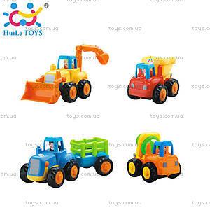 Игрушечная машинка Huile Toys «Грузовичок», 326