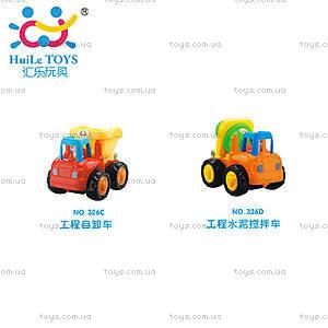 Игрушка Huile Toys «Самосвал и Бетономешалка», 326CD