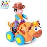 Детская игрушка «Ковбой на диком быке», 838B, купить