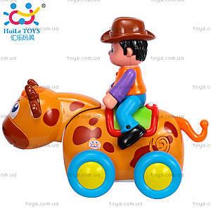 Детская игрушка «Ковбой на диком быке», 838B, отзывы