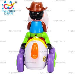 Игрушка Huile Toys «Ковбой на веселой лошади», 838A, купить