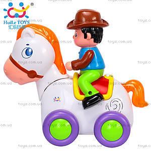 Игрушка Huile Toys «Ковбой на веселой лошади», 838A, отзывы