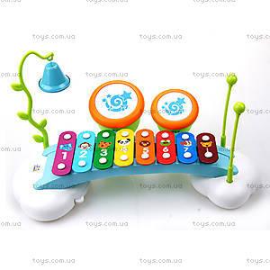Игрушечный ксилофон «Радуга», 909