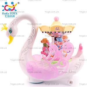 Детская игрушка Huile Toys «Лебедь-карусель», 536, фото