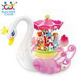 Детская игрушка Huile Toys «Лебедь-карусель», 536