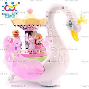 Детская игрушка Huile Toys «Лебедь-карусель», 536, цена