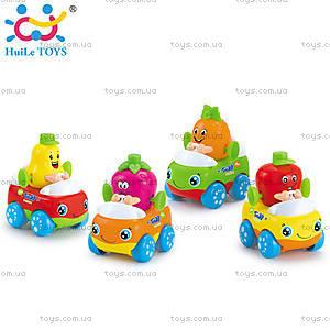Набор машинок Huile Toys «Тутти-Фрутти», 356A-X