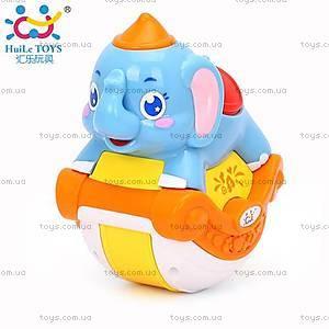 Игрушка Huile Toys «Музыкальный слоник», 3105C